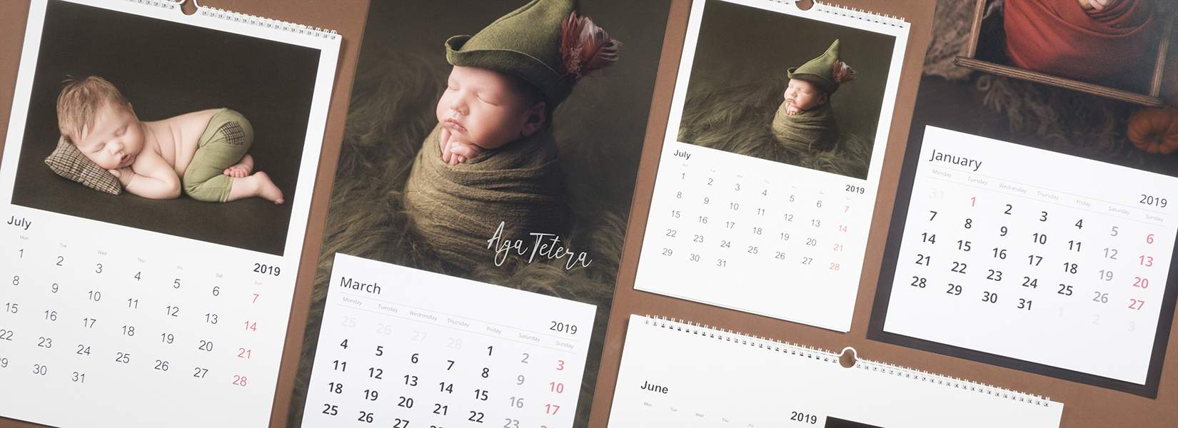 Calendar HD BASIC photo calendar professional print nphoto