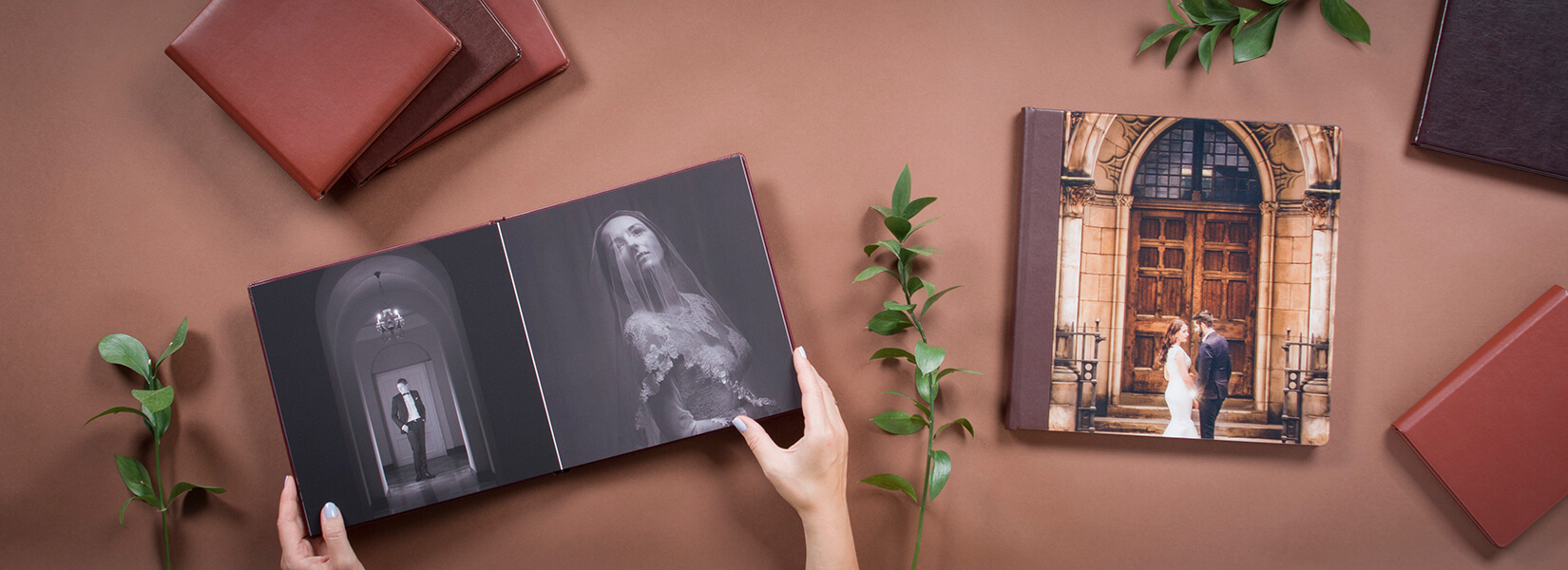 Handcrafted lay flat Photo album for photographers nphoto