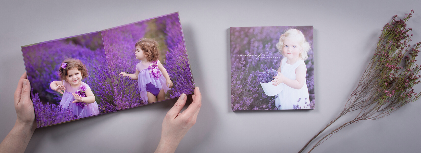 LiteAlbum HD is perfect voor newborn fotografie