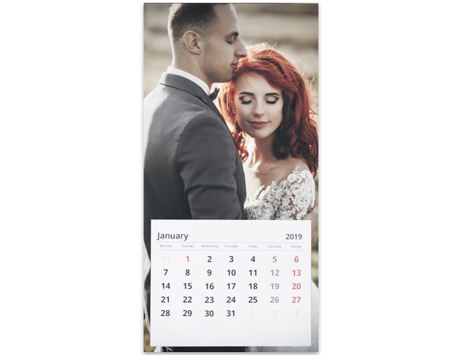 Photo calendar HD professional photographer printing lab