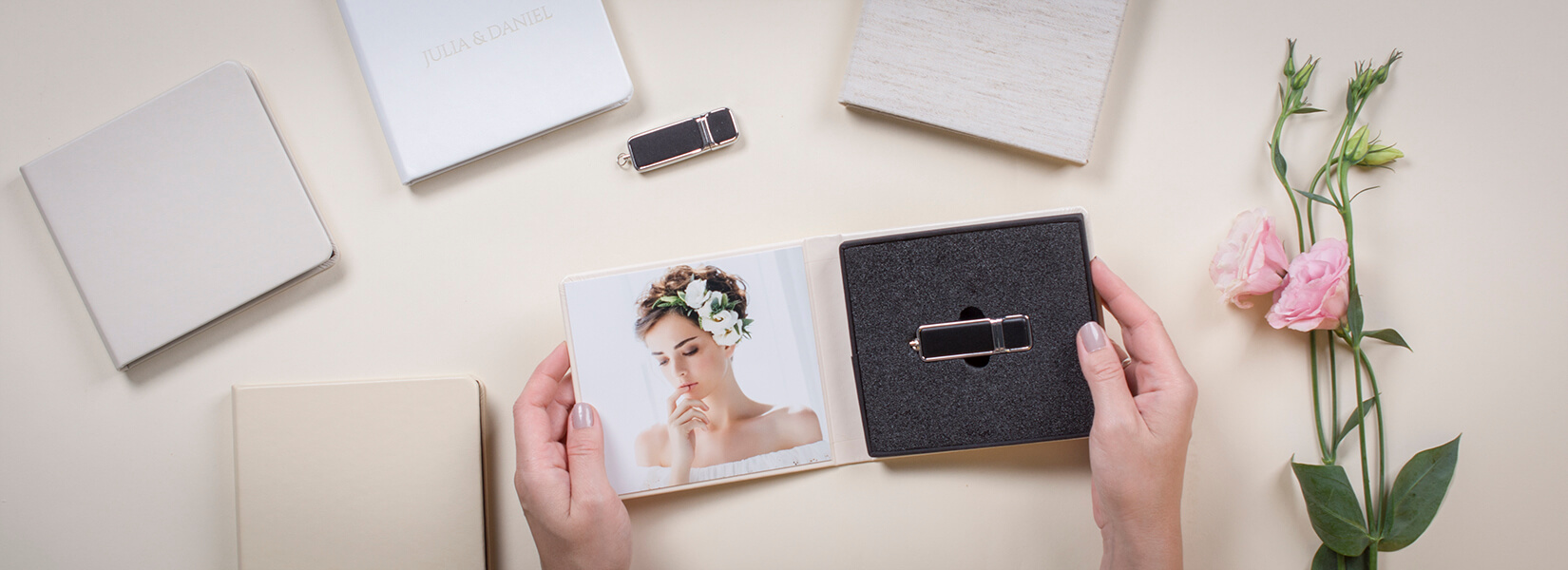 USB Box Magnetic usb box data carrier professional nphoto usb case without usb professional photographer
