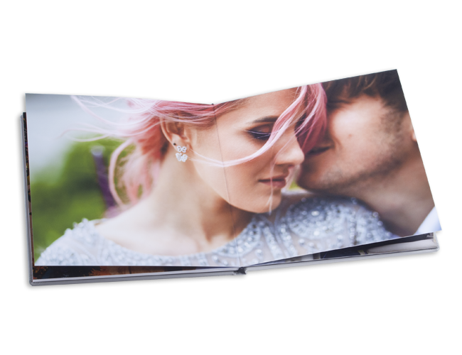 lay flat flush mount Photo Album for photographers nPhoto with custom cover