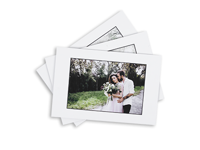 matted prints for wedding newborn pet portrait photographer