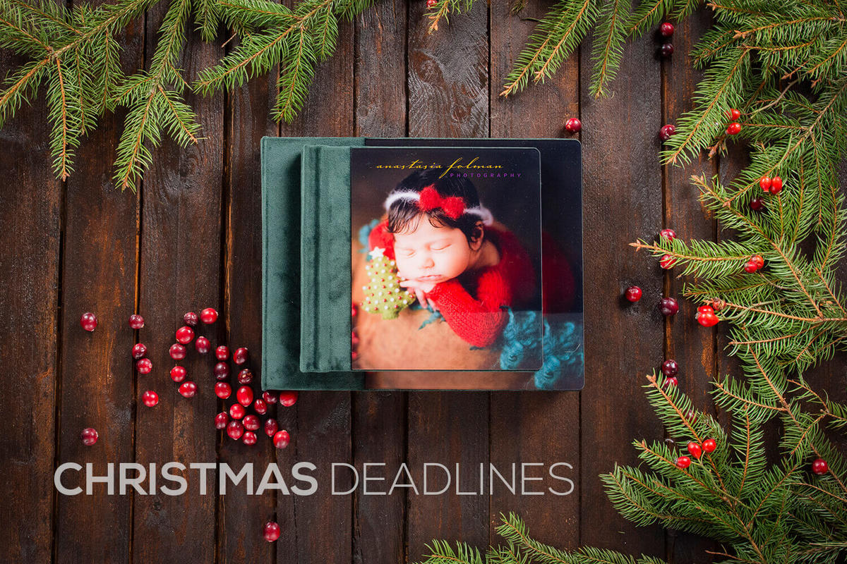 nPhoto Christmas Deadlines, order by
