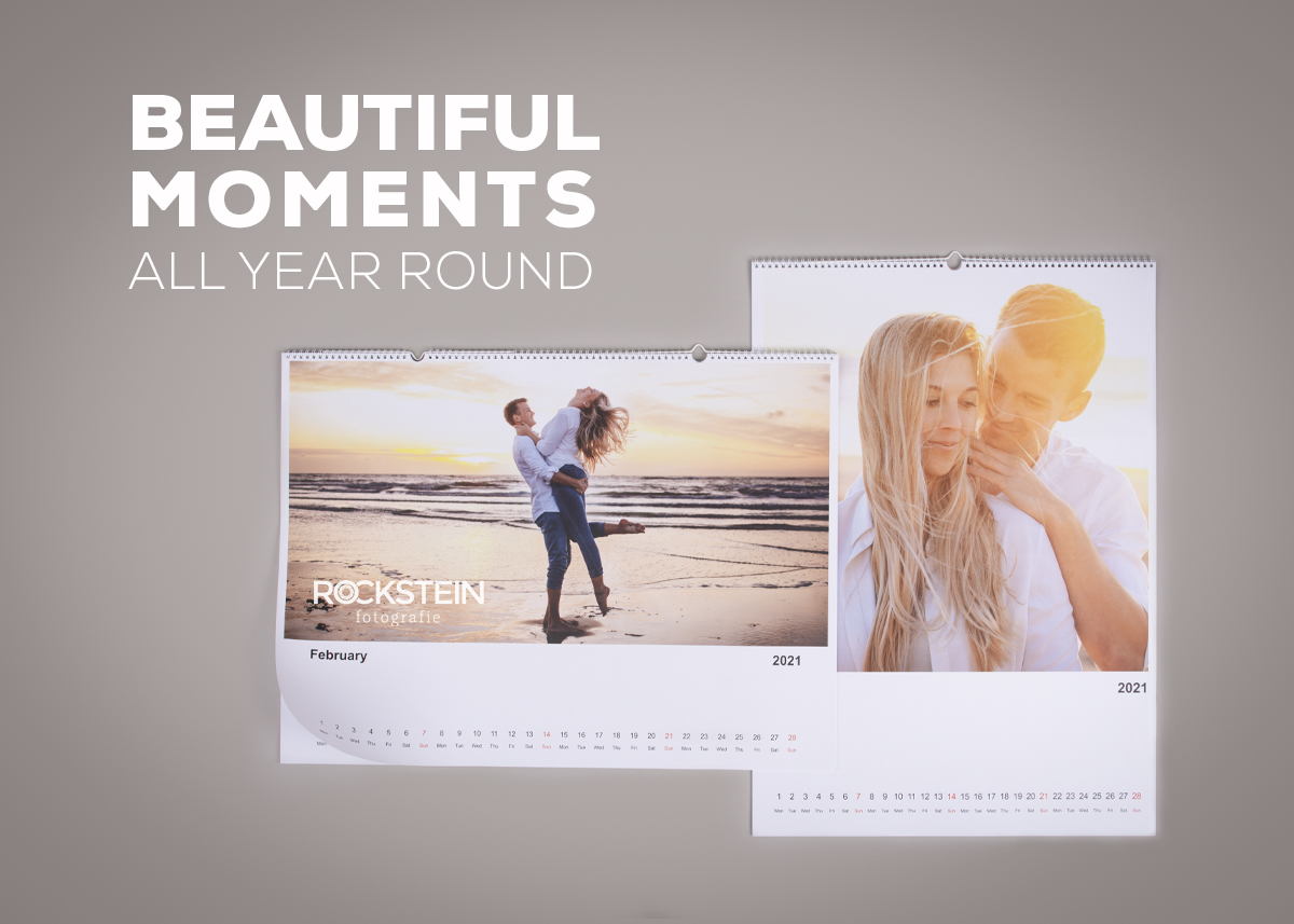 Photo calendars, beautiful moments all year round