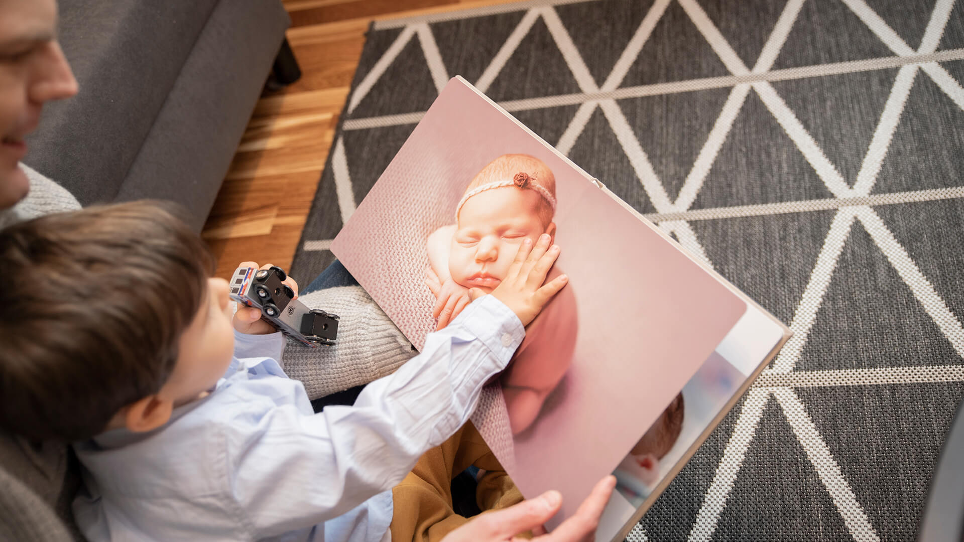 Baby Photo Albums for Professional Newborn Photographers