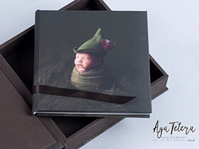 Photo Wrapped Baby Photo Books and Albums