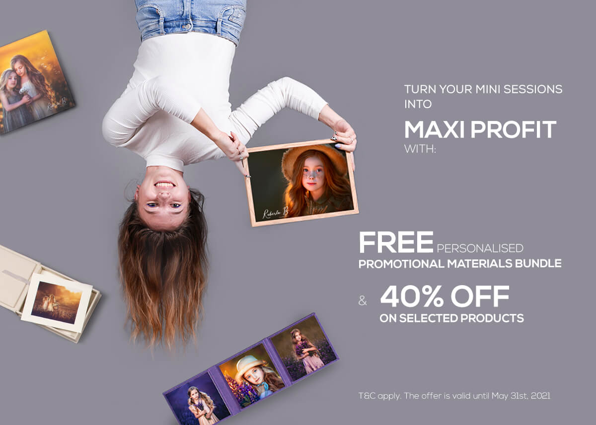 Turn mini sessions into maxi profit nphoto