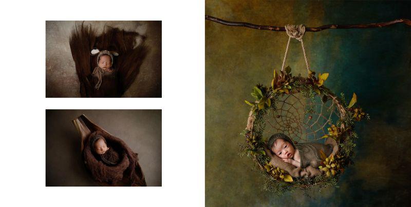 Fotoalbum von Ana Brandt 9 Doppelseite nPhoto für professionelle Fotografen