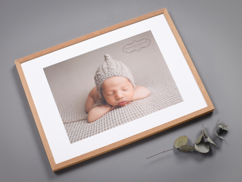 Framed Print with Passepartout
