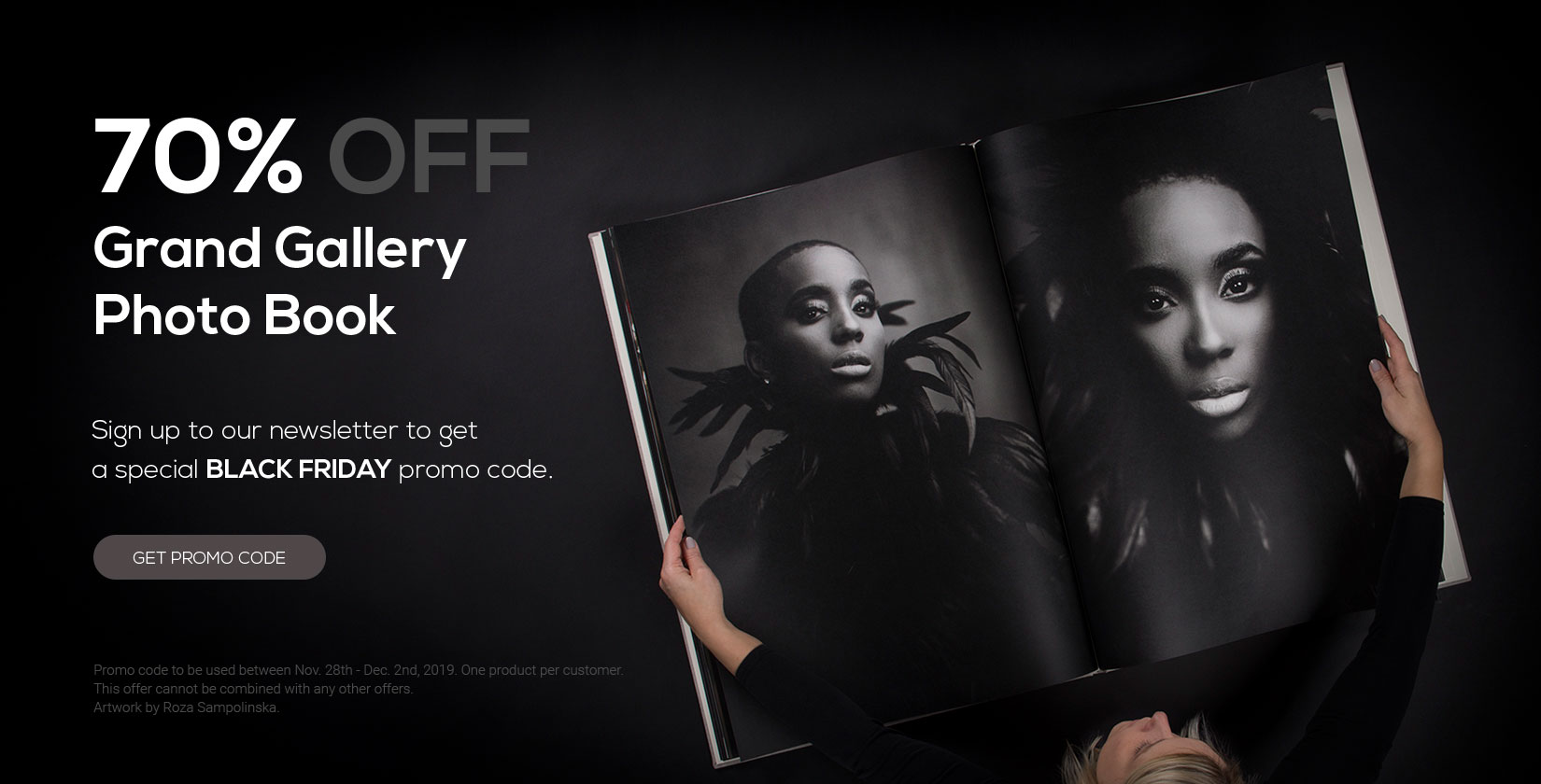 Grand Gallery Photo Book Black Friday promo nPhoto