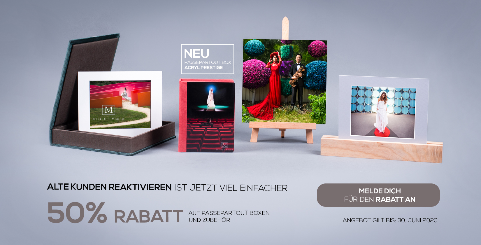 NEU: Passeparrour Box in der Acryl Prestige Kollektion mit 50% RABATT