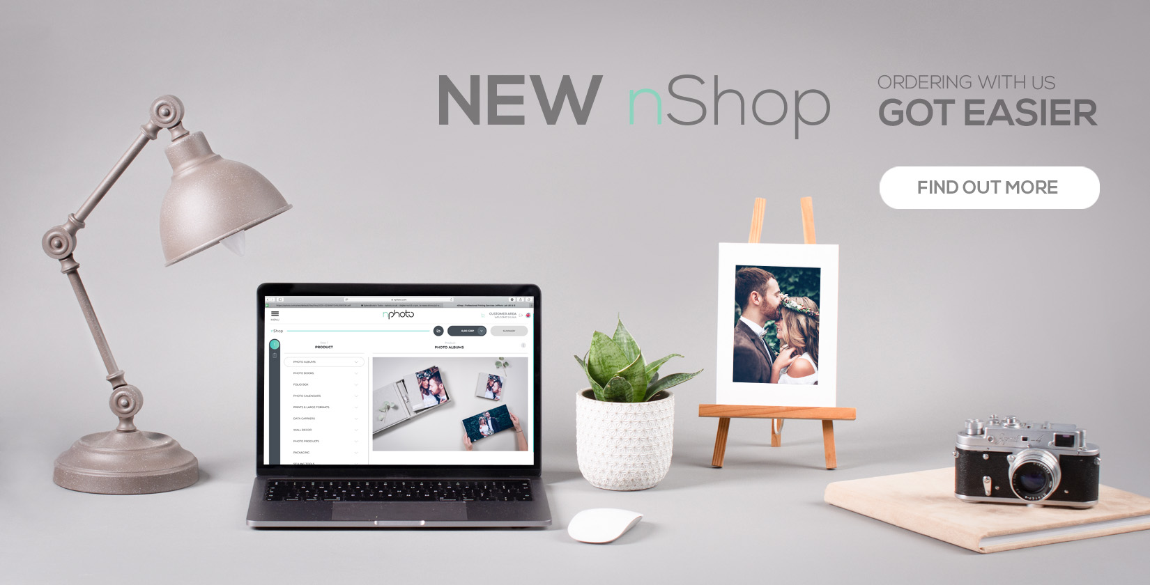 new ordering system nShop by nPhoto