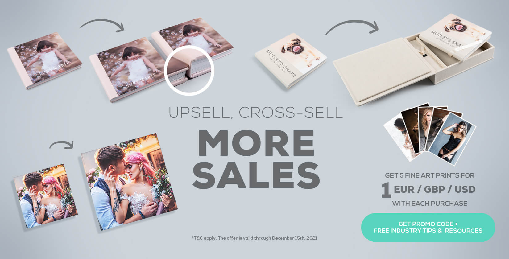 upsell photo products with nPhoto