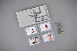 Folio Box with Matted Prints