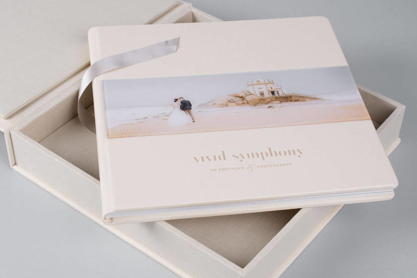 Acrylic Photo album Lay flat professional nphoto 3 wedding albums for photographers