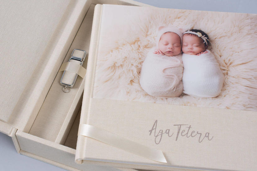 Acrylic Photo album Lay flat professional nphoto 4