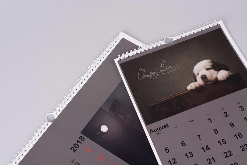 Calendar basic photo calendar professional print nphoto 2