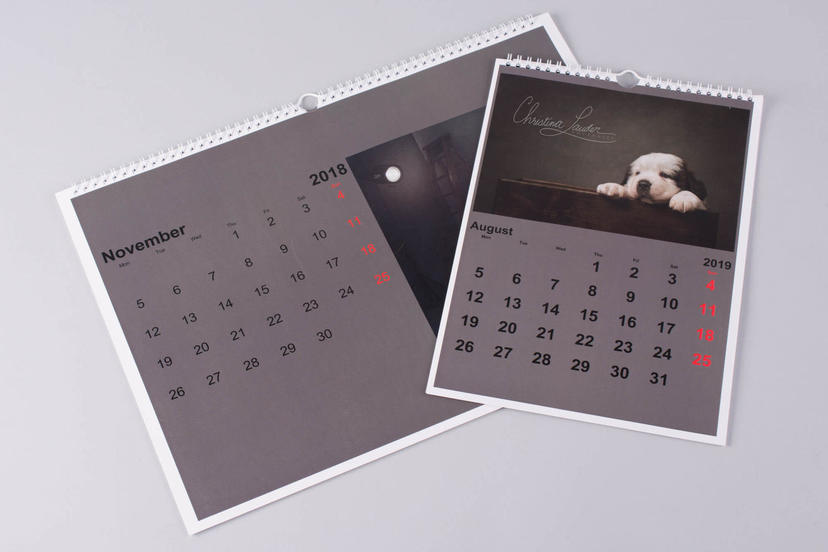 Calendar basic photo calendar professional print nphoto 3
