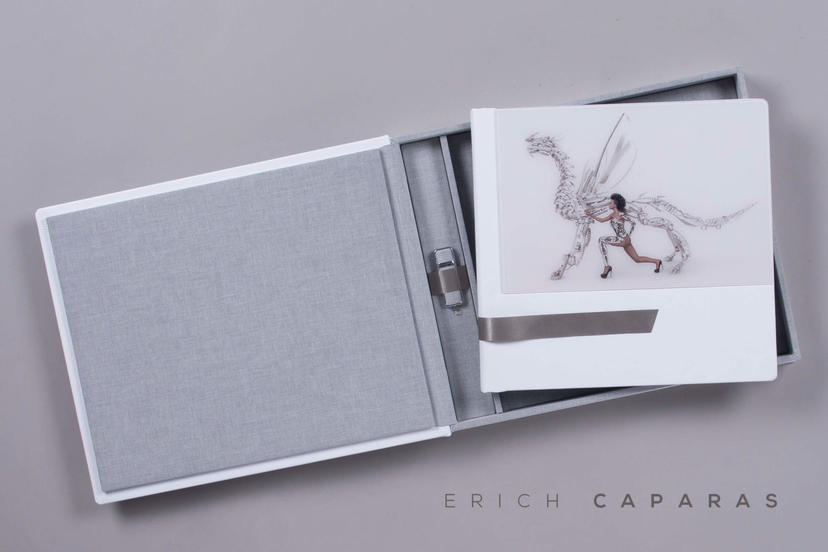 Complete Set Erich Caparas printed products photo album lay flat photo book printing lab nphoto professional photographer IPS