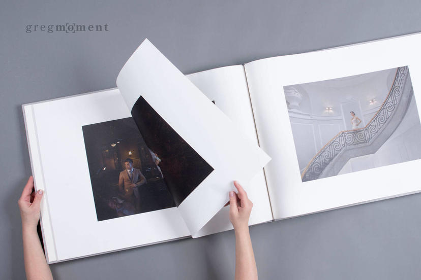 Grand Gallery Photo Book large XXL custom photo book for professional photographers nphoto printing lab portfolio book for photographer studio logo