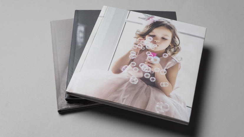 Lite Album lay flat album for newborn family photographers 3