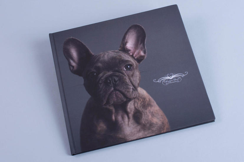 Creative cover photo book printed cover pet photographer pet photography product