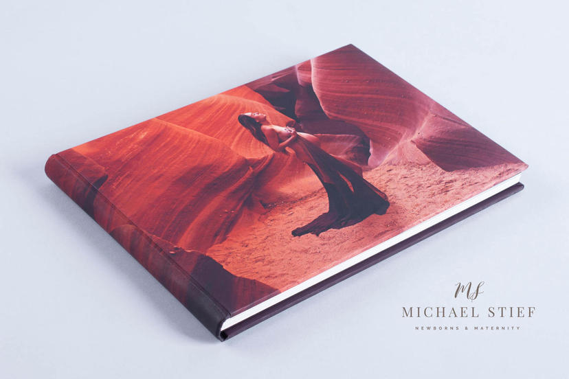 Creative printed cover lay flat photo album panoramic spreads large photo album Michael Stief nphoto