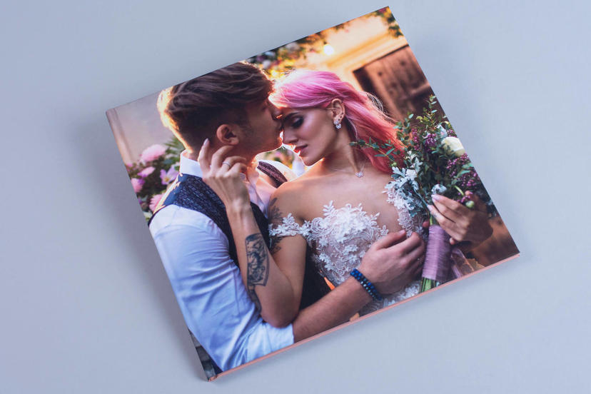 Creative printed cover photo album photo books wedding photographer packages IPS professional photographer nphoto