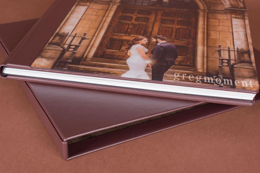 Photo Album Acrylic prestige lay flat professional photographer