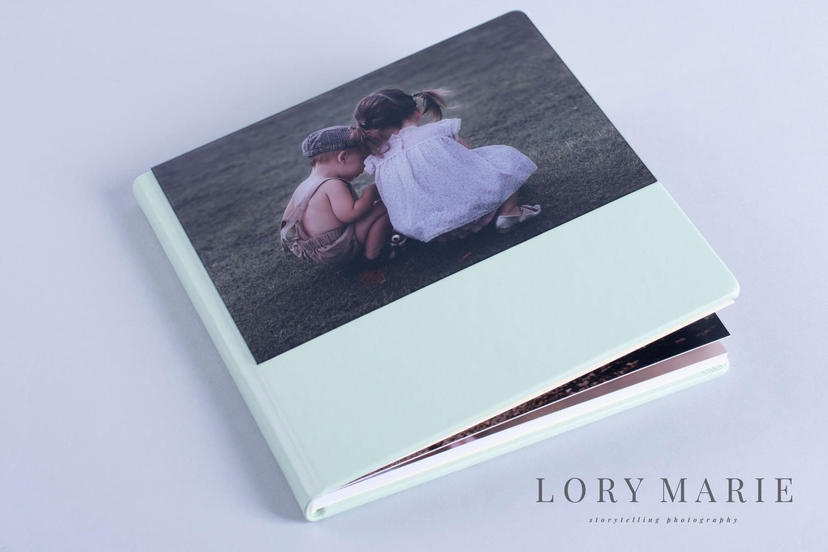 lay flat professionally printed Photo Album with hardcover nphoto professional photographer printing lab professional printing services family album nphoto