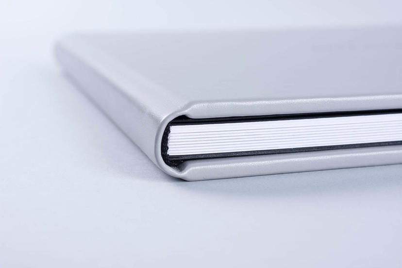 lay flat professionally printed Photo Album with hardcover nphoto professional photographer