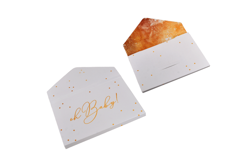 Envelope for Fine Art Prints - Gold Confetti ar5 - Oh Baby!