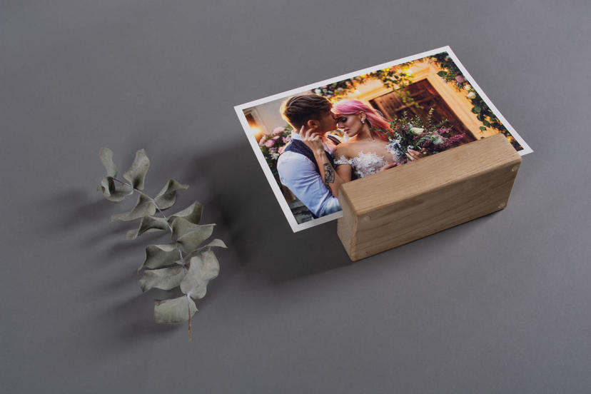 Wooden Photo Holder for Fine Art Prints Professional Photo Product
