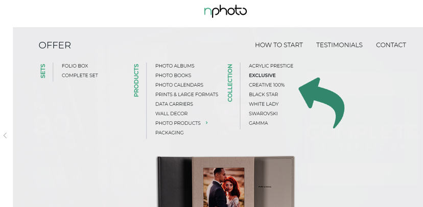 nPhoto cover collections